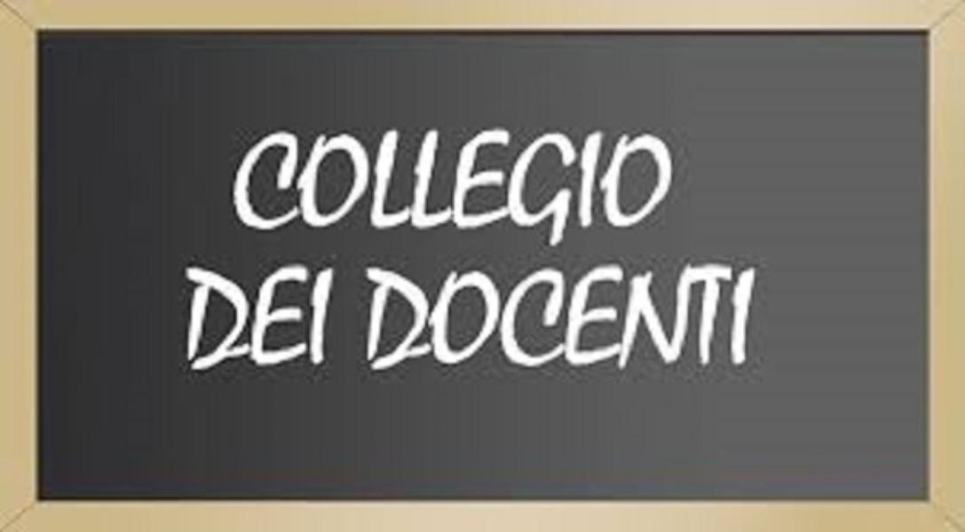 ORDINE DEL GIORNO COLLEGIO DEI DOCENTI – 27/06/2019