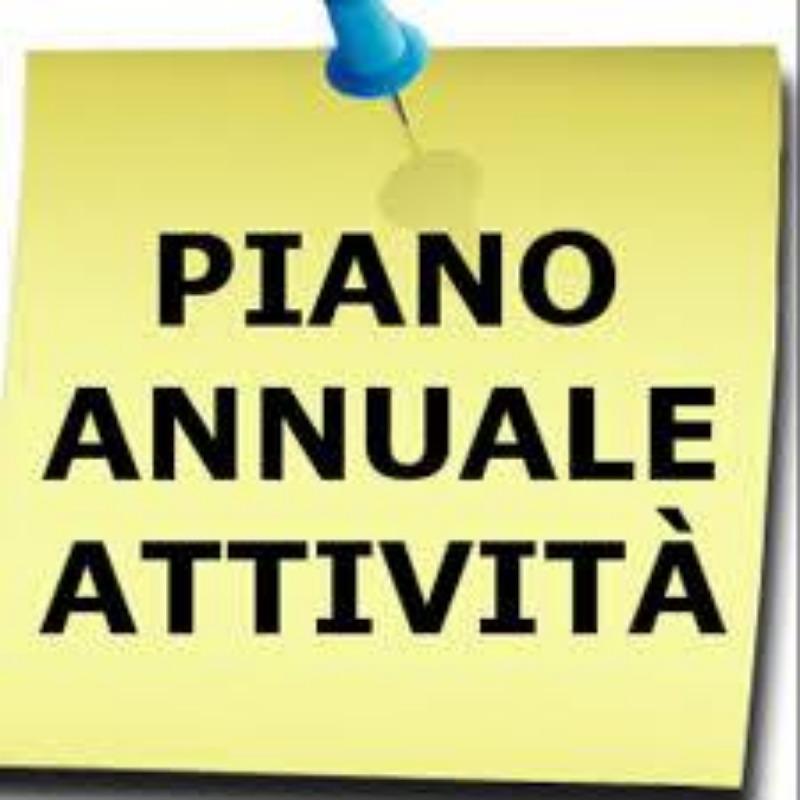 PIANO ANNUALE ATTIVITÀ 2019/2020