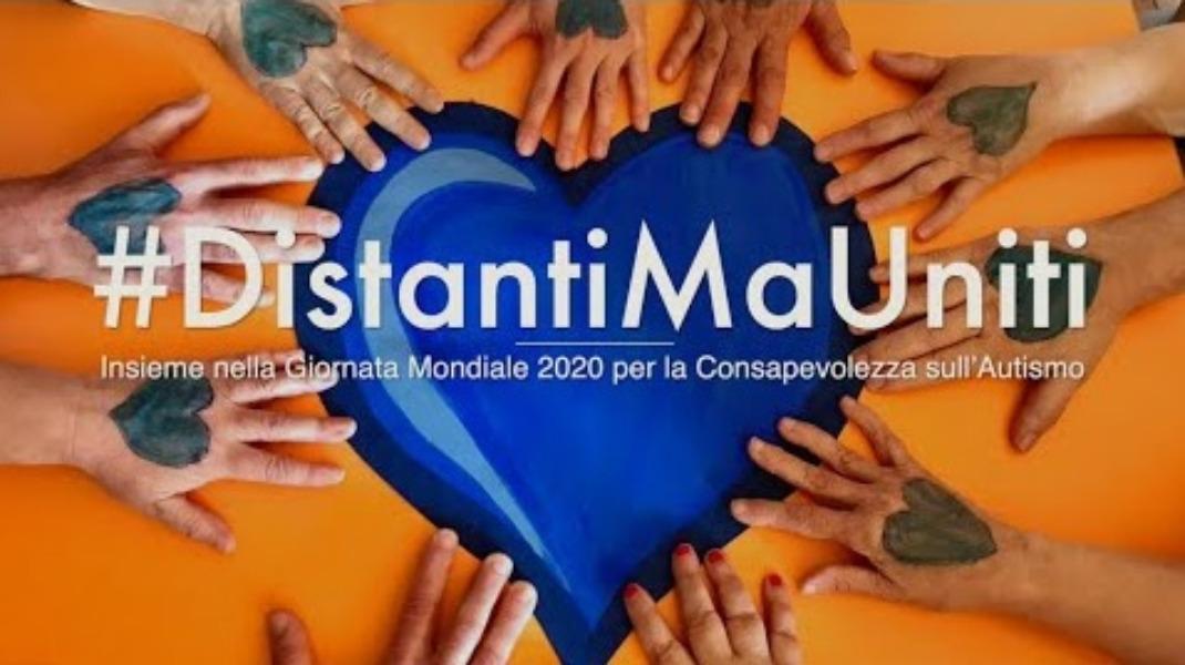 INSIEME NELLA GIORNATA MONDIALE 2020 PER LA CONSAPEVOLEZZA SULL'AUTISMO