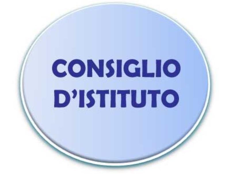 11 SETTEMBRE 2018: CONSIGLIO D'ISTITUTO