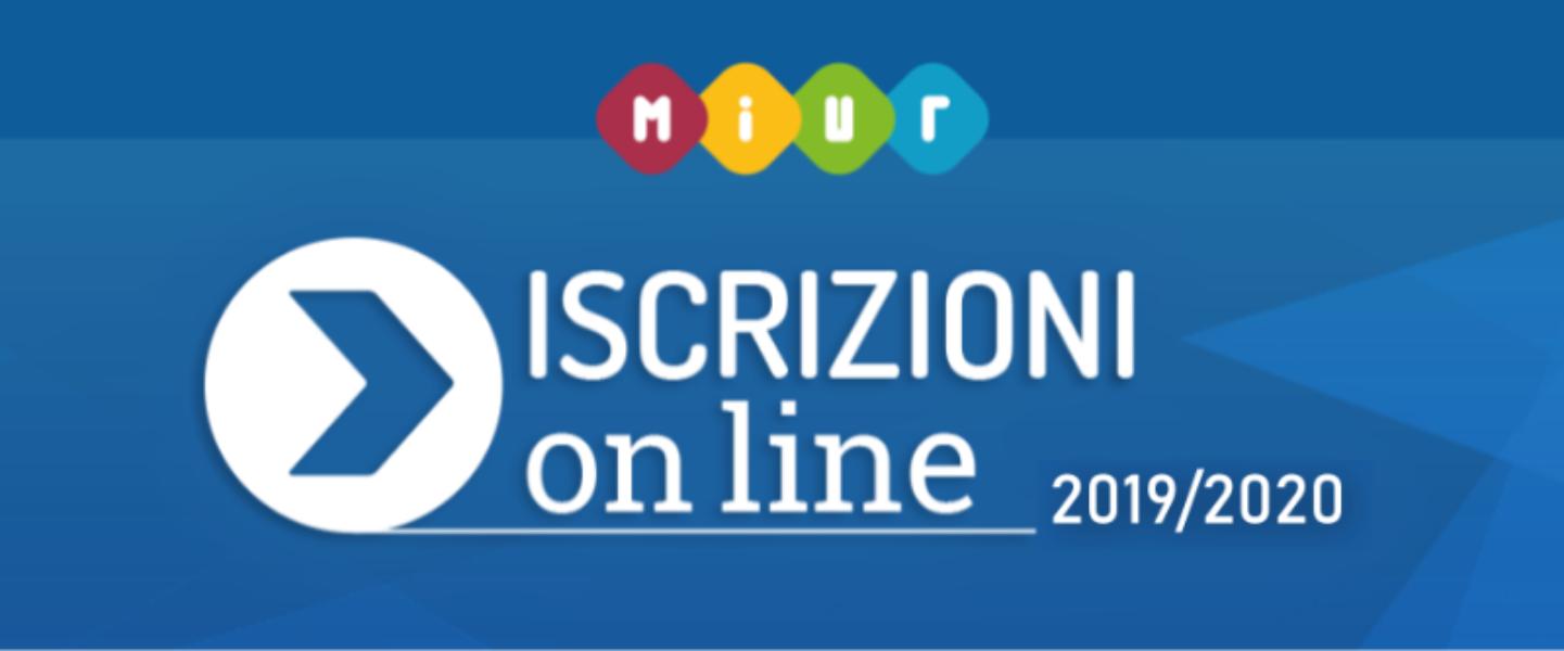 ISCRIZIONI ANNO SCOLASTICO 2019/2020