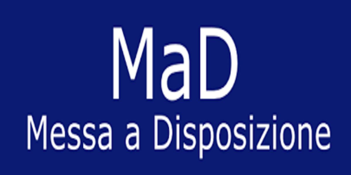 TEMPISTICA PRESENTAZIONE DELLE MAD PER EVENTUALE STIPULA CONTRATTI A TEMPO DETERMINATO A.S. 2019/20